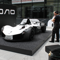 SUPERCAR COMES TO LIFE AT IFB HUB