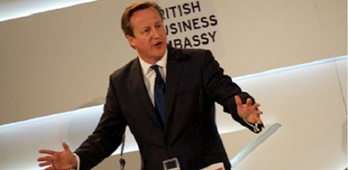 David Cameron launches International Festival for Business 2014