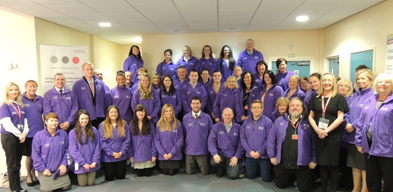 SANTANDER STAFF JOIN IFB 2014 VOLUNTEERING SCHEME